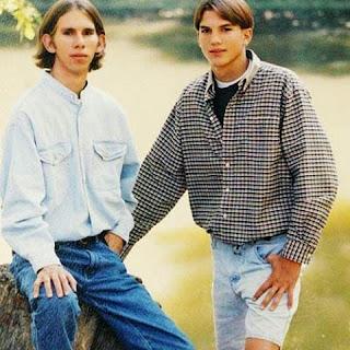 O nome de Ashton Kutcher é, na verdade, Christopher. E o ator tem um irmão gêmeo chamado Michael.