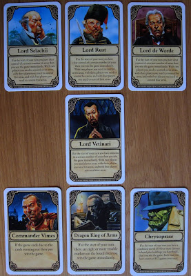 Discworld: Ankh-Morpork - The 7 Personality Cards