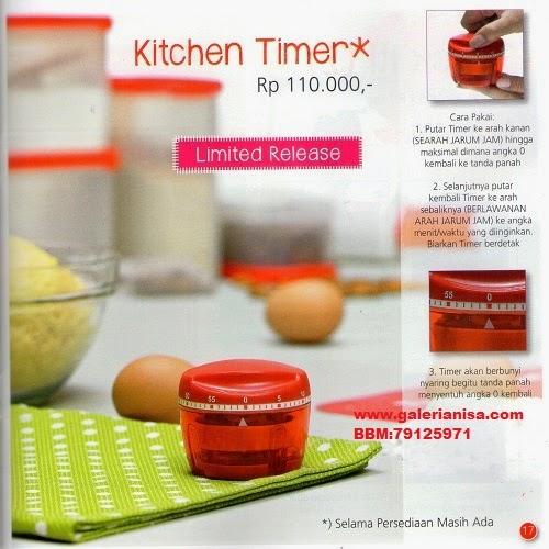 Tupperware Promo Agustus 2014 Kitchen Timer