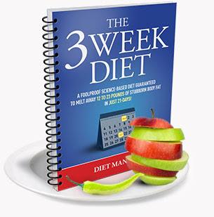 WEIGHT LOSS DIET PLAN: Three weeks weight loss diet plan ...