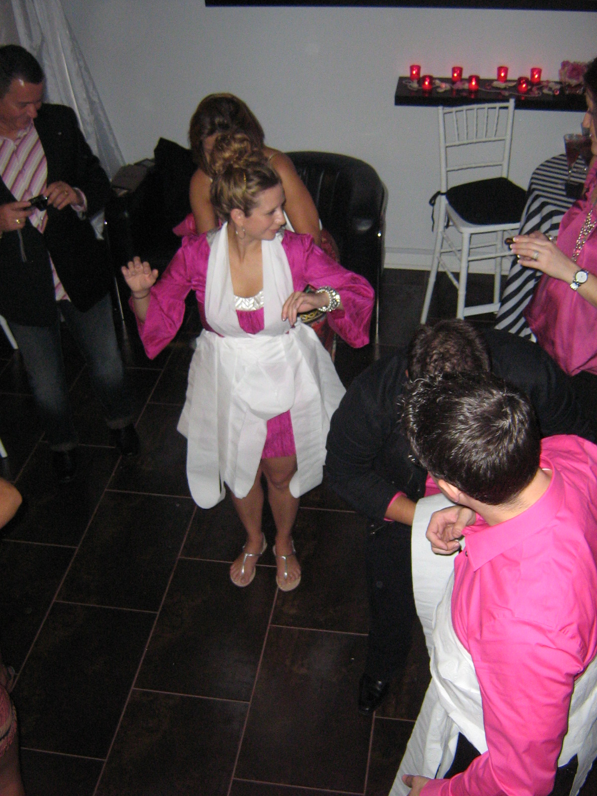 Infinity Weddings And Events Llc Miami Beach Fl Bridal Party Pretty In Pink Fashionista Style