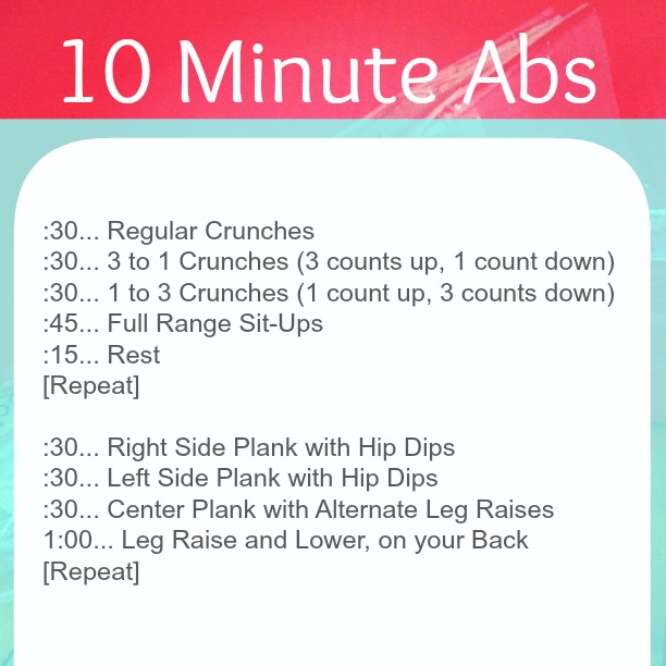 Work out plan for abs and thighs recipe