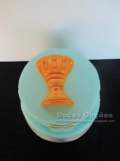 bolo comunhão calice bragança