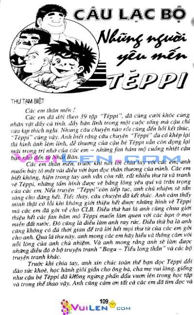 Siêu quậy Teppi chap 39 - Trang 106