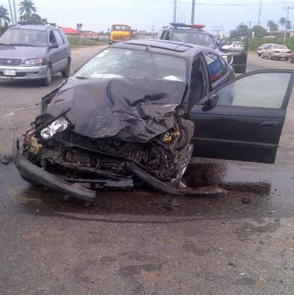 governor amaechi car accident