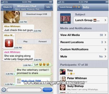 Descarga WhatsApp para el iPhone gratis