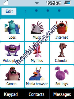 Themes for a Phone - Corby 2 Theme Monster University Theme