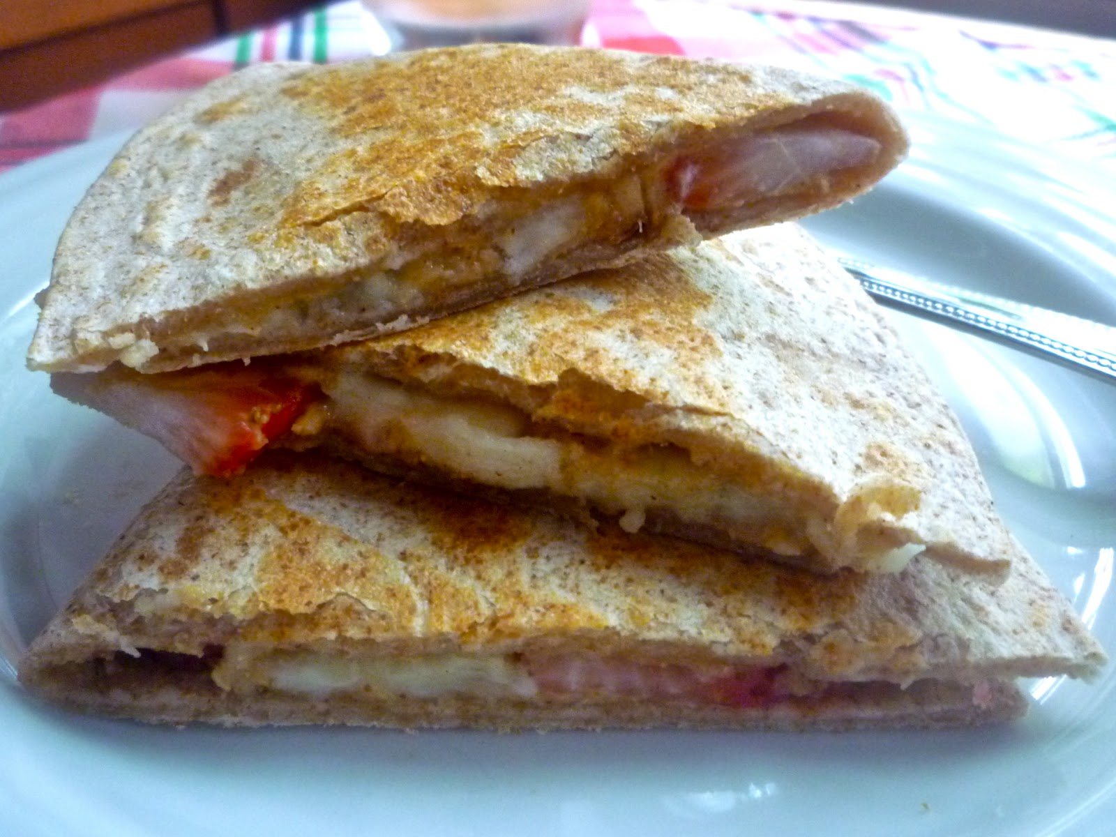 ... Cinnamon Peanut Butter and Banana Strawberry Peanut Butter Quesadilla
