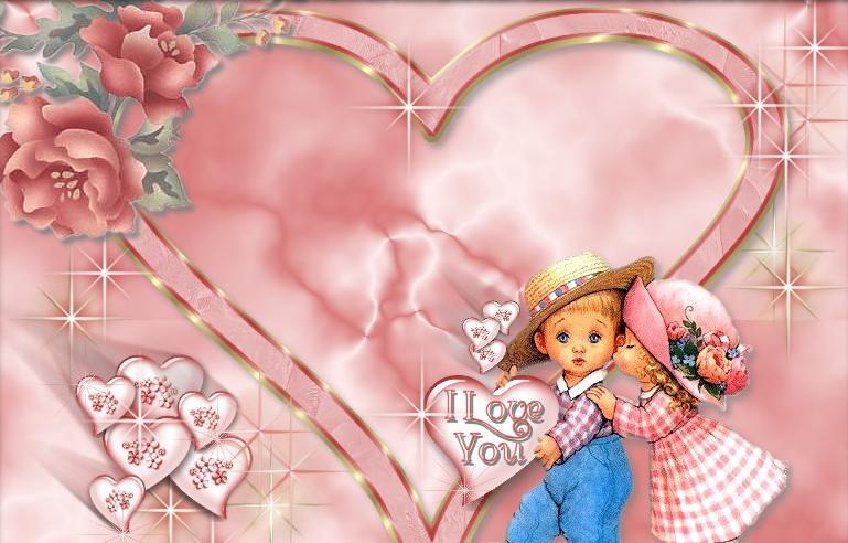 amor de una parejita jovenes enamorados con un corazon y rosas de