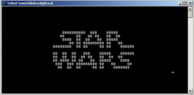 star wars in command prompt