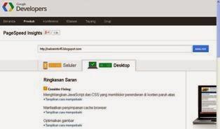 Situs Cek Berat Loading Blog Gratis
