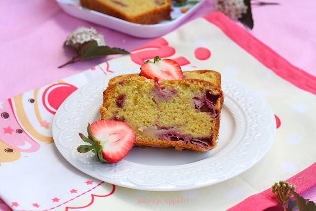 Ciasto z truskawkami ucierane