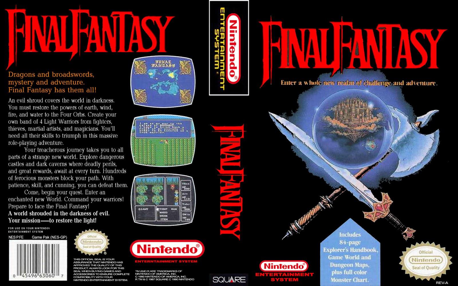 Final Fantasy Del 1 Al 6 El Mystic Quest Espaol