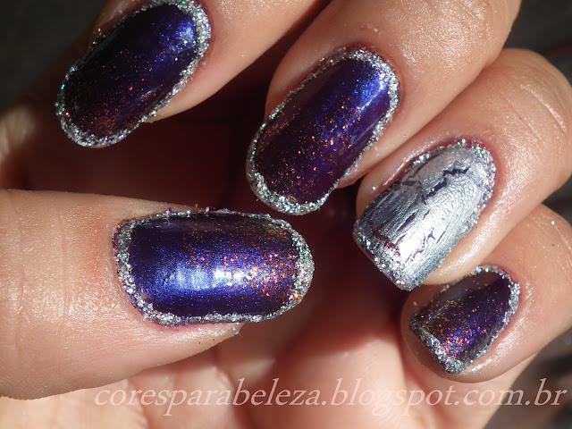 borda nas unhas cores para beleza 2012