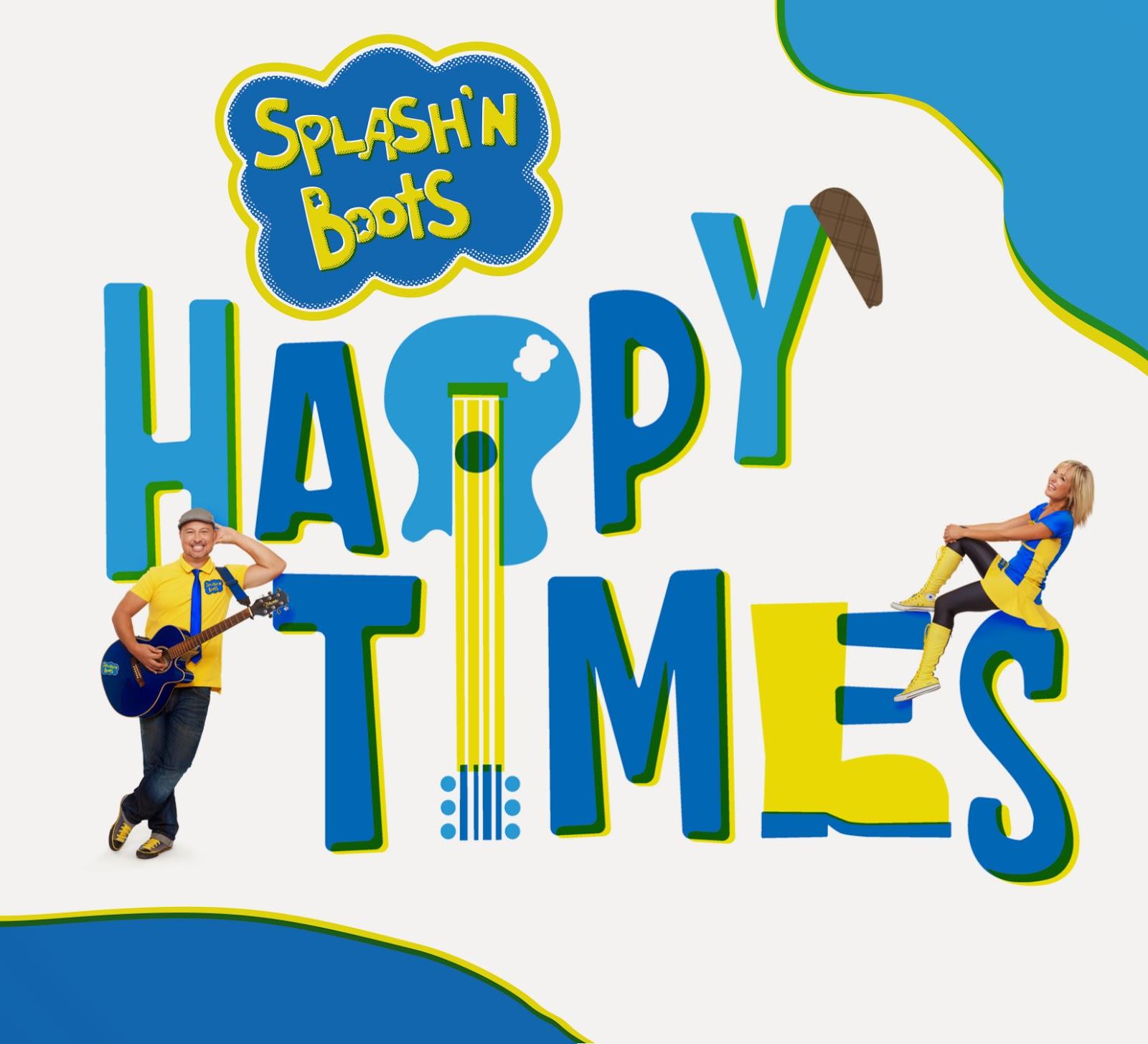 "Splash 'N Boots ""Happy Times"" CD, children's music"