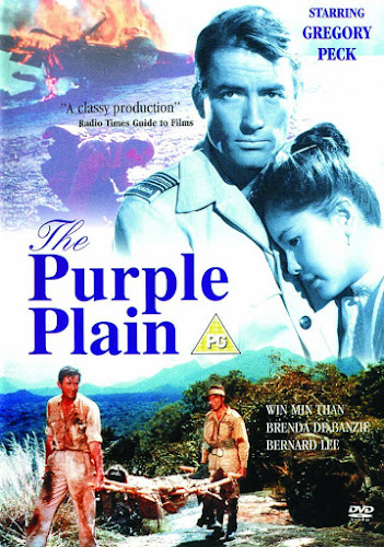 Poster Of The Purple Plain 1954 In Hindi Dual Audio Bluray 720P Free Download