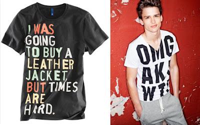 H&M miesten t-paidat
