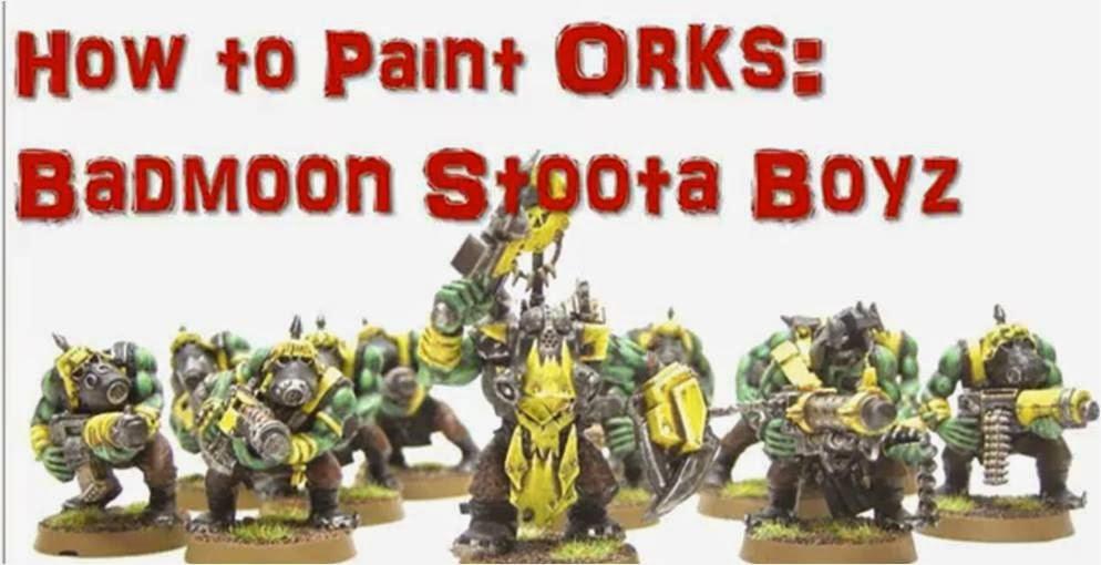 Cómo pintar una Peña de Guerreroz Orkos