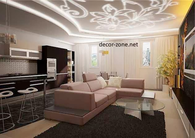 decorative ceiling designs for living room