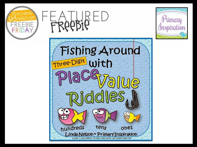 http://primaryinspiration.blogspot.com/2014/08/place-value-riddles-for-three-digit.html