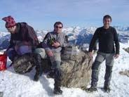 Mesa de los Tres Reyes 2.448 m (invernal)