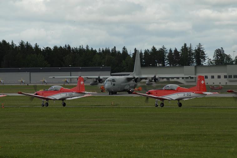 PC7 Team and C130 Hercules