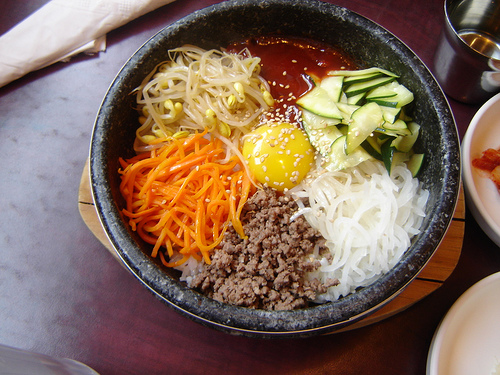 travel & living: Bibimbap 비빔밥 (Korean Mixed Rice)
