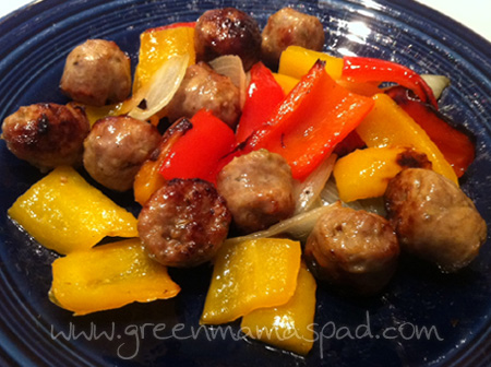 Sweet Italian Sausage & Peppers Recipe Marianna