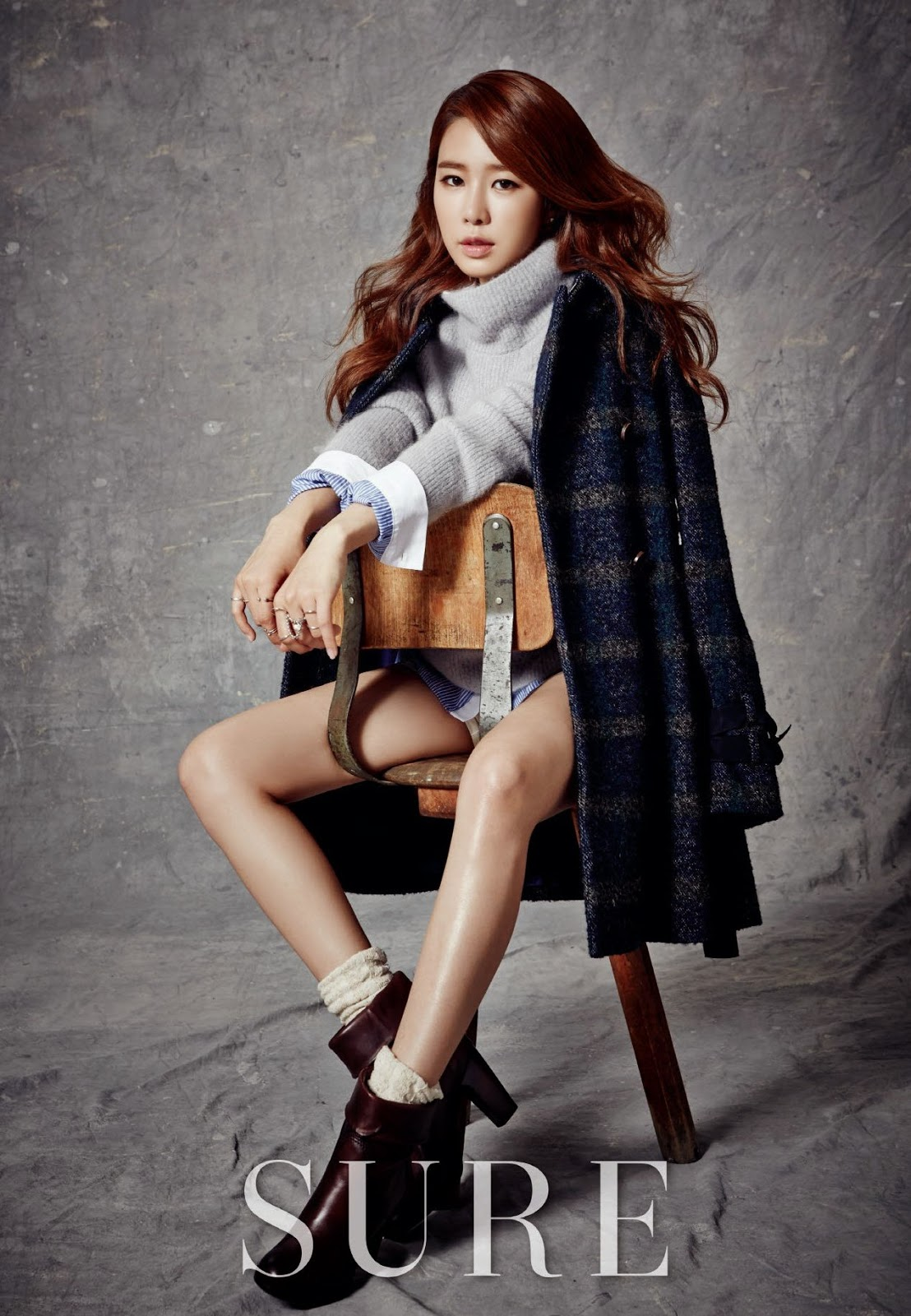 Yoo In Na - Sure Magazine November Issue 2014