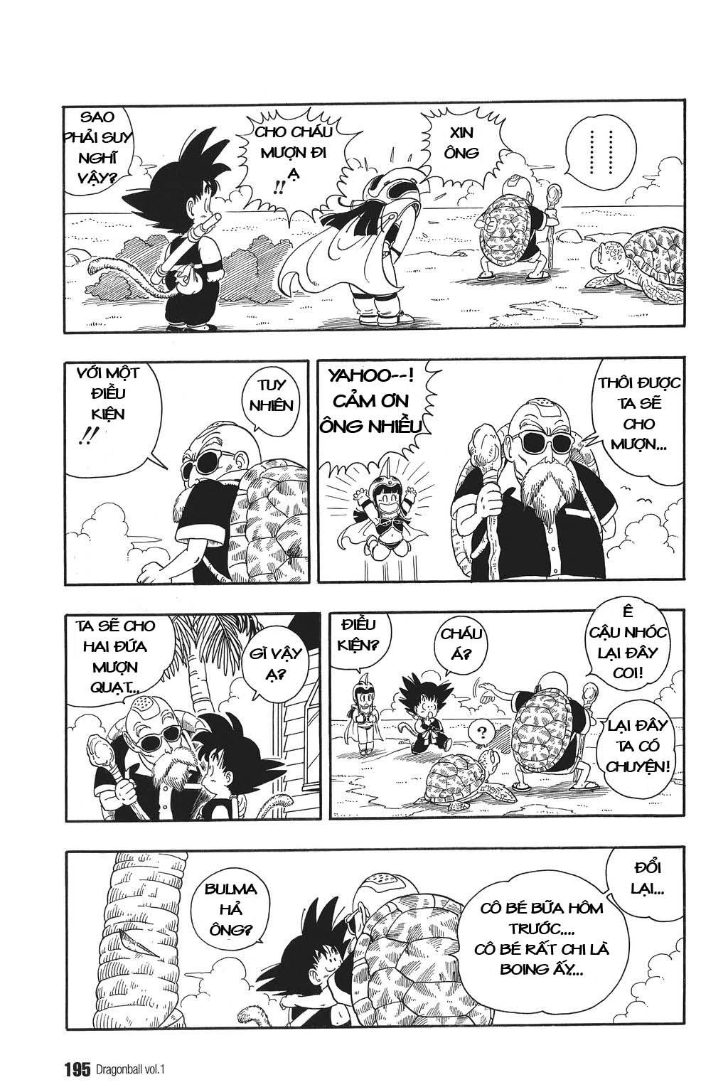 xem truyen moi - Dragon Ball Bản Vip - Bản Đẹp Nguyên Gốc Chap 13