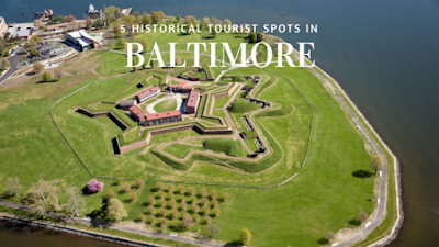 historical tourist spots in baltimore