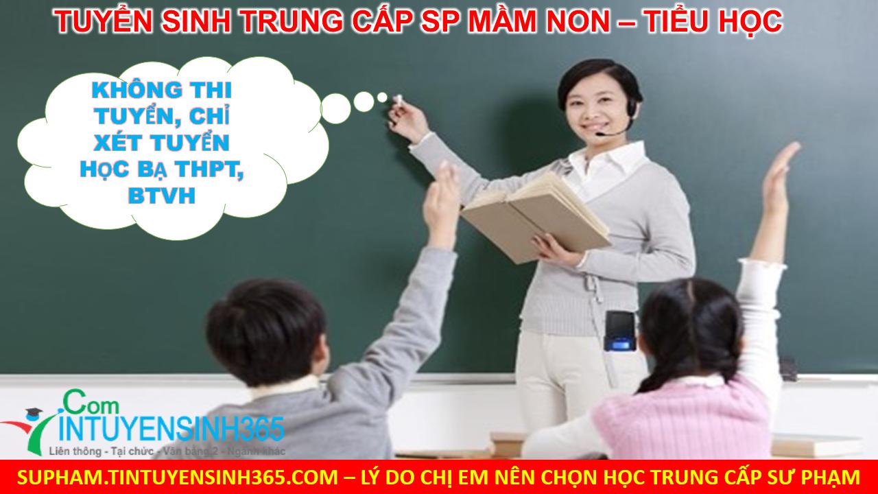 Học Trung cấp Mầm non Tiểu học tại Hà Nội