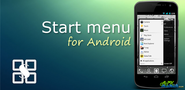 Start menu for Android v1.1.11 APK