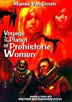 Portada Viaje al planeta de las mujeres prehistóricas