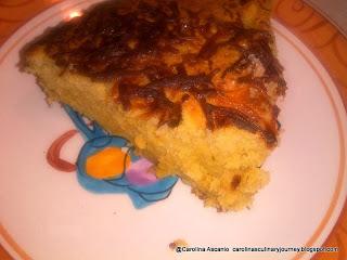 Torta de Platano y Queso. Plantain and Cheese Cake (Venezuela)