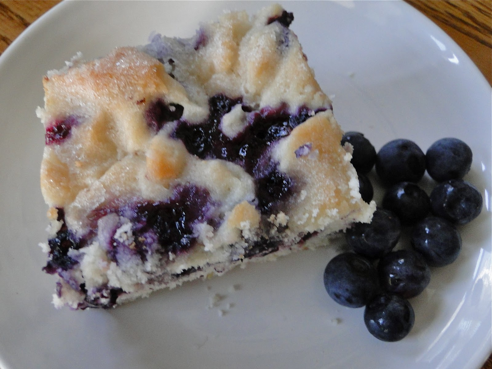 It's healthy because it's stuffed full of blueberries, am I right??!