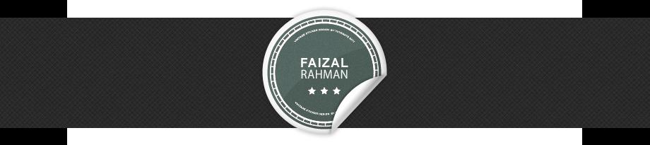 Faizal Rahman