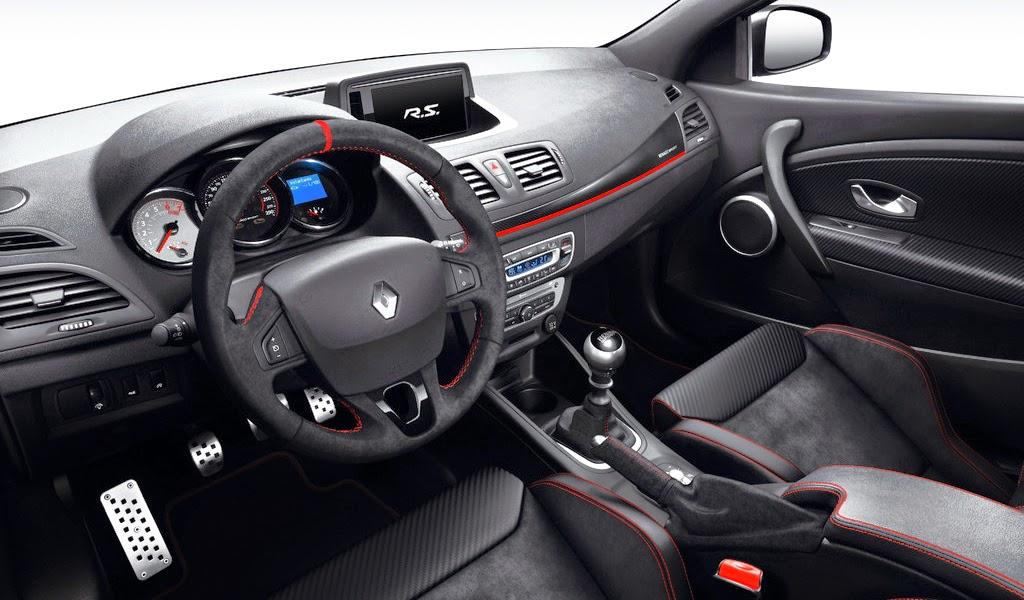 2015 Renault Megane RS 275 Trophy Interior Wallpaper