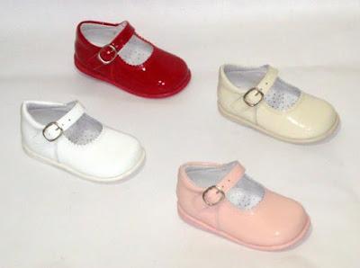 merceditas de charol de bambineli calzado infantil