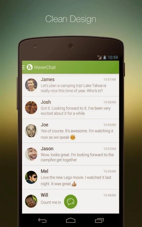 HoverChat (formerly Ninja SMS) v2.0.9