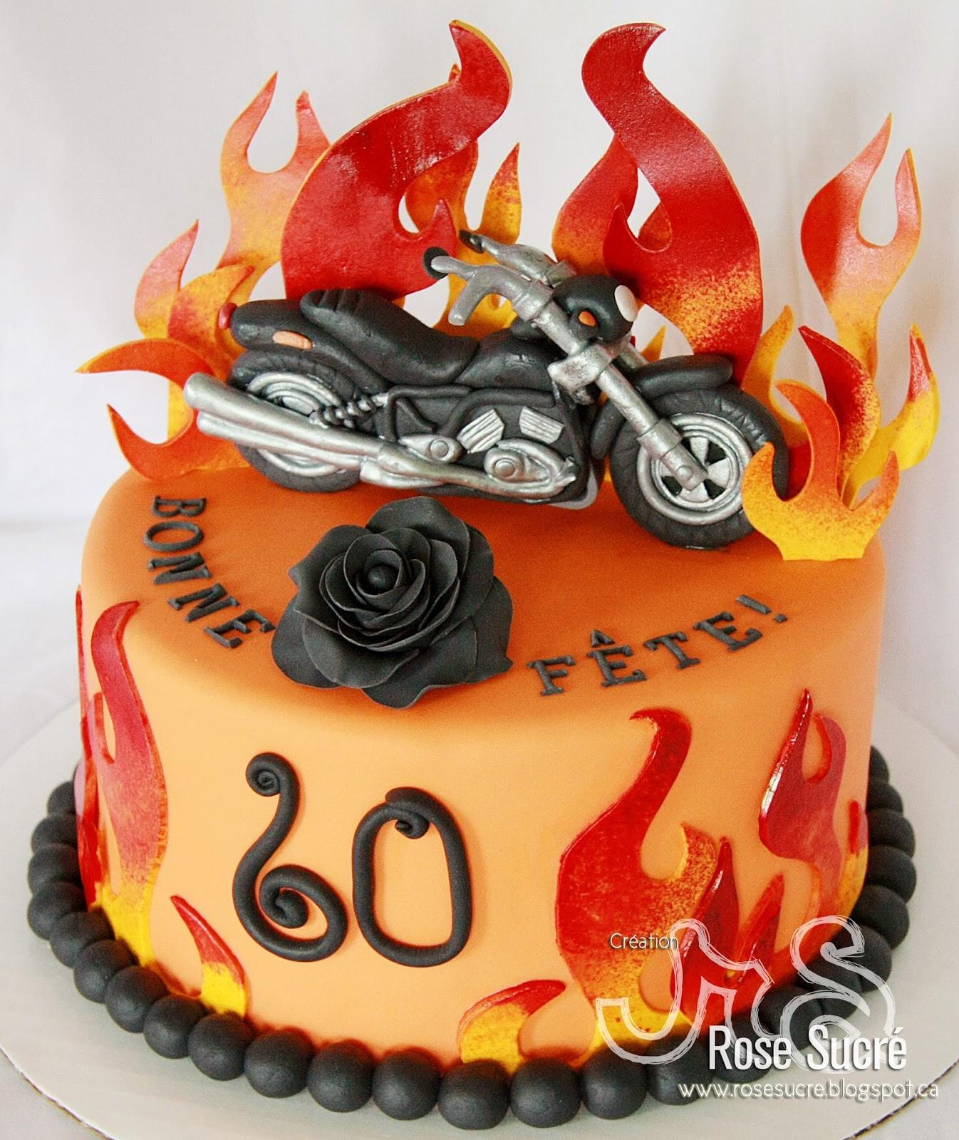 Extrêmement Rose Sucré: Gâteau Moto KU55