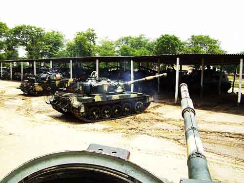 Al-Zarrar Tank Of Pakistan Army