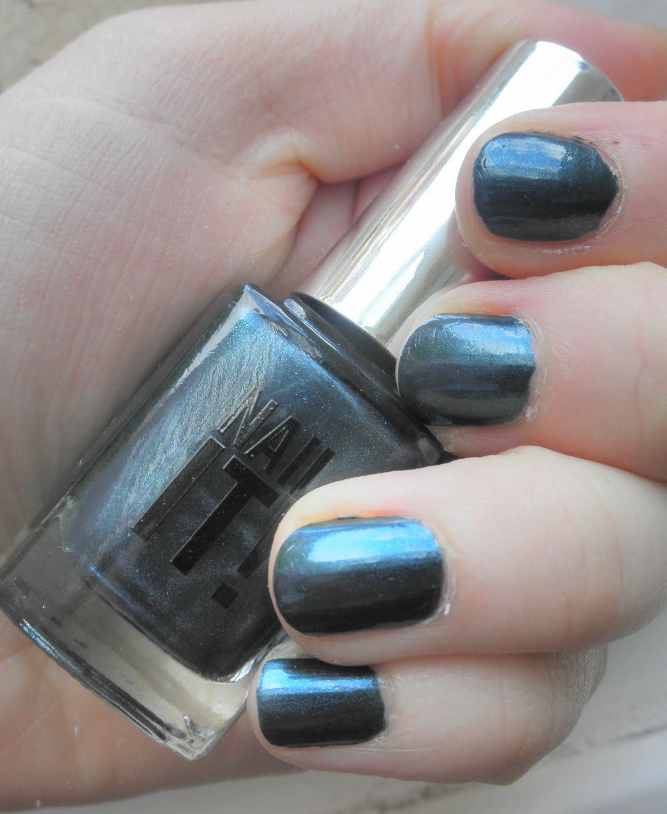 miss chew: Fake Chanel Black Pearl Nail Polish? Sign me up...