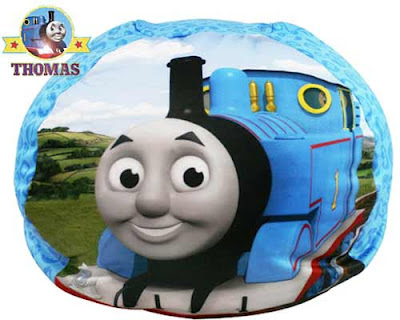 Charming Thomas the tank engine bean bag chair kids furniture decor comfy relaxing location to play