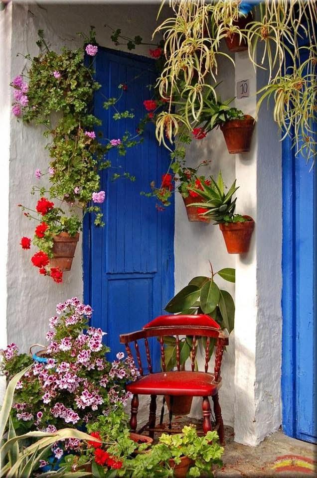 Uma porta para a felicidade...