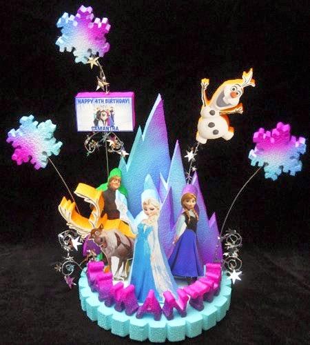 Centros de Mesa de Frozen, parte 2