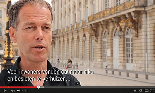 Tourisme en ville : Nancy (NL).