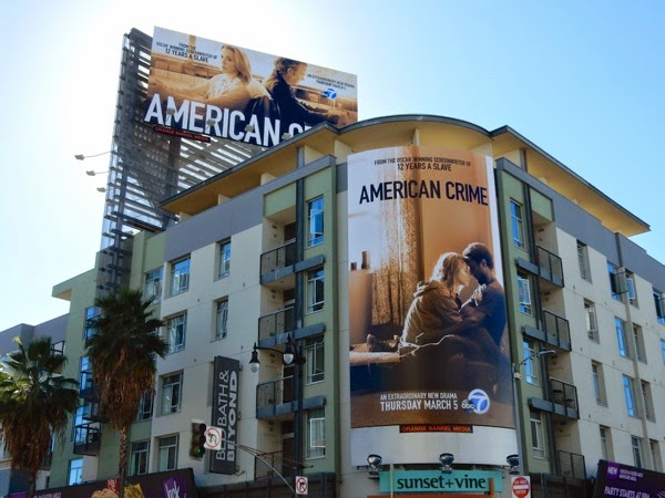 American Crime series premiere billboards