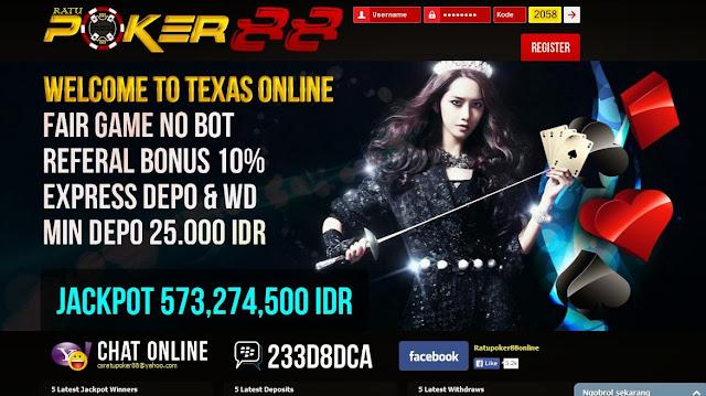 Daftar Poker Online Uang Asli RatuPoker88.com