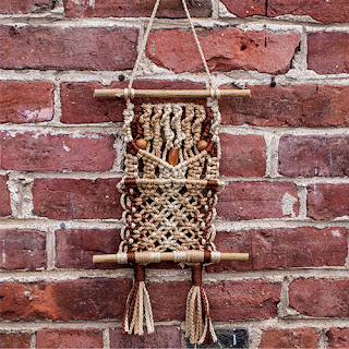 DIY Macrame Owl Hanging Kit